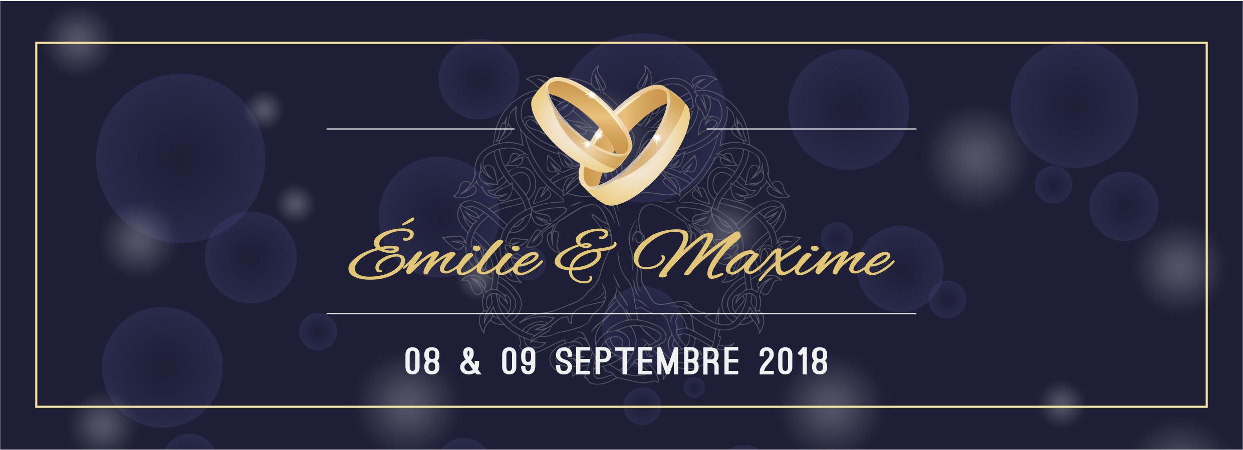 Mariage Émilie & Maxime